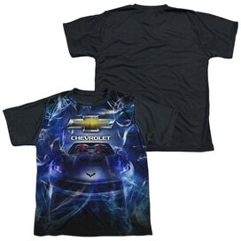 Chevrolet Vette Dream Short Sleeve Youth Front Black Back T-Shirt