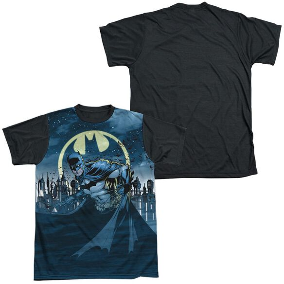 Batman Heed The Call Short Sleeve Adult Front Black Back T-Shirt