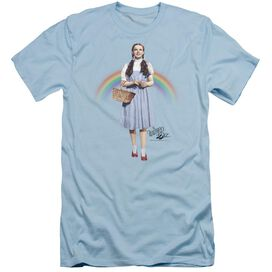 Wizard Of Oz Over The Rainbow Short Sleeve Adult Light T-Shirt