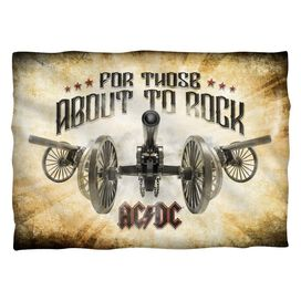 Acdc Bang (Front Back Print) Pillow Case