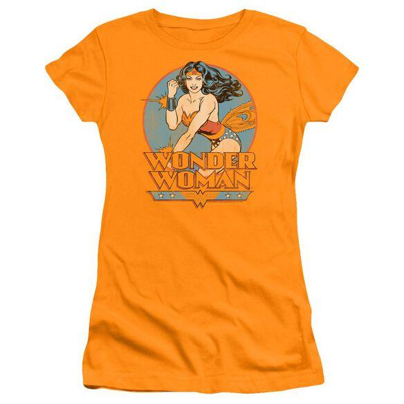 Dc Wonder Woman Premium Bella Junior Sheer Jersey