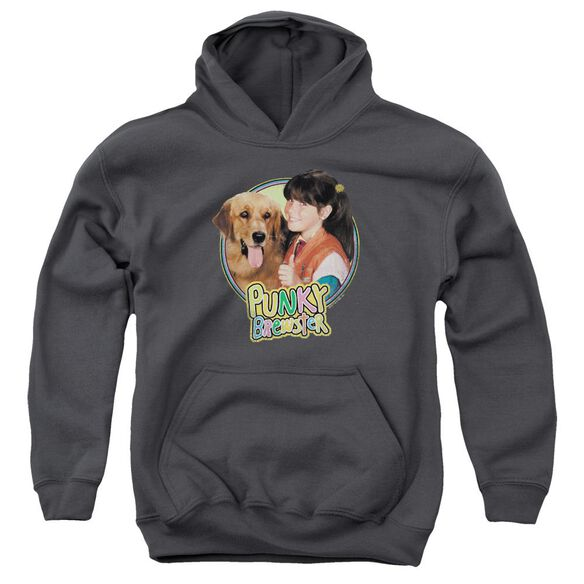Punky Brewster Punky & Brandon Youth Pull Over Hoodie