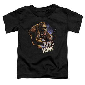 King Kong Kong And Ann Short Sleeve Toddler Tee Black Sm T-Shirt