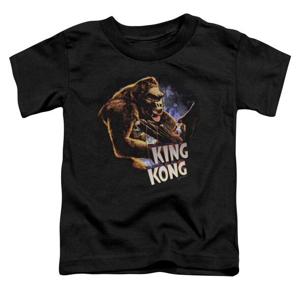 King Kong Kong And Ann Short Sleeve Toddler Tee Black Sm T-Shirt