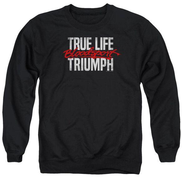 Bloodsport True Story Adult Crewneck Sweatshirt