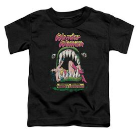 Dc Jaws Short Sleeve Toddler Tee Black Lg T-Shirt