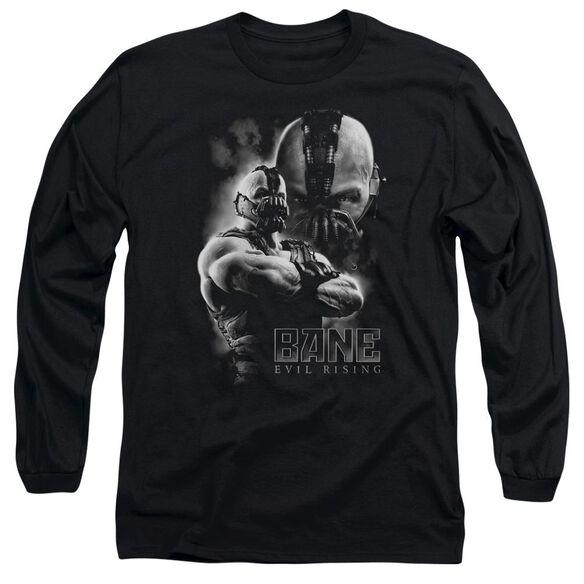 Dark Knight Rises Evil Rising Long Sleeve Adult T-Shirt
