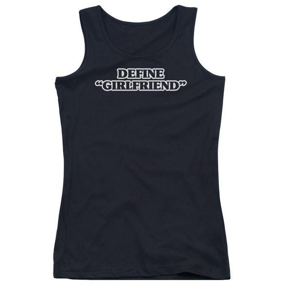 Define Girlfriend Juniors Tank Top