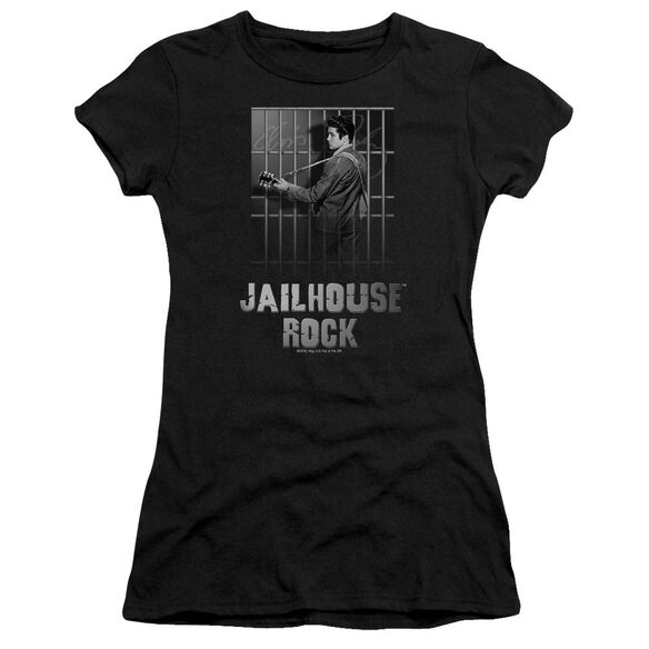 Elvis Jailhouse Rock Short Sleeve Junior Sheer T-Shirt