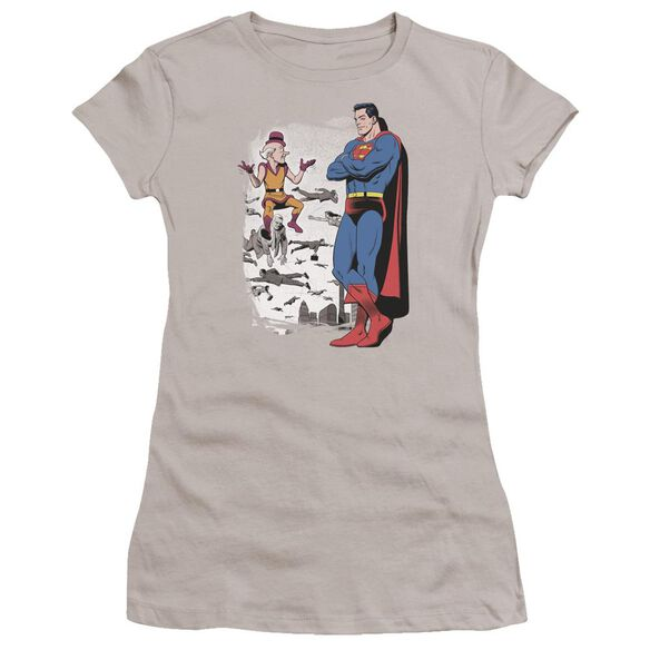 Superman Disbelief Premium Bella Junior Sheer Jersey