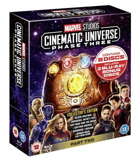 Marvel Studios Cinematic Universe Collector's Edition Box Set - Phase 3 Part 2 [Blu-ray]