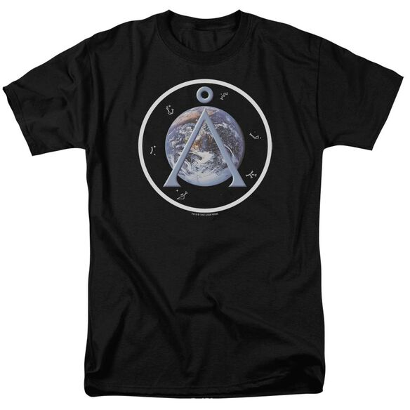 Sg1 Earth Emblem Short Sleeve Adult T-Shirt