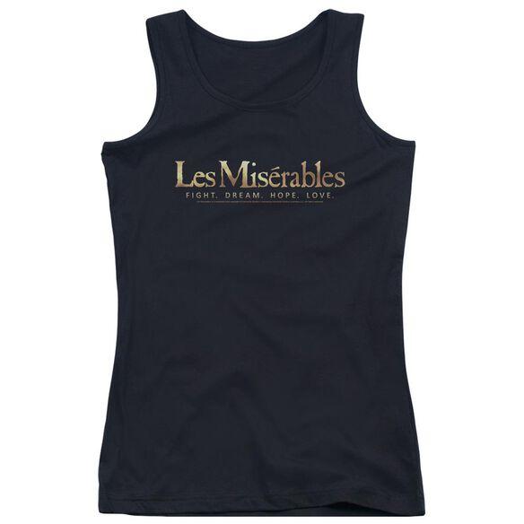 Les Miserables Logo Juniors Tank Top
