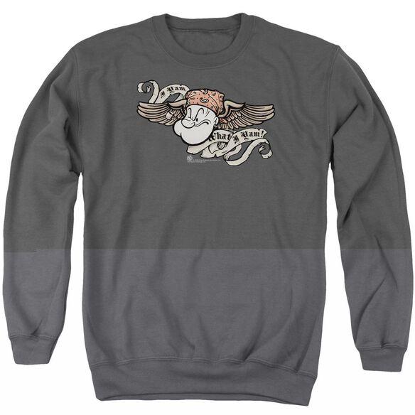 Popeye I Am Adult Crewneck Sweatshirt