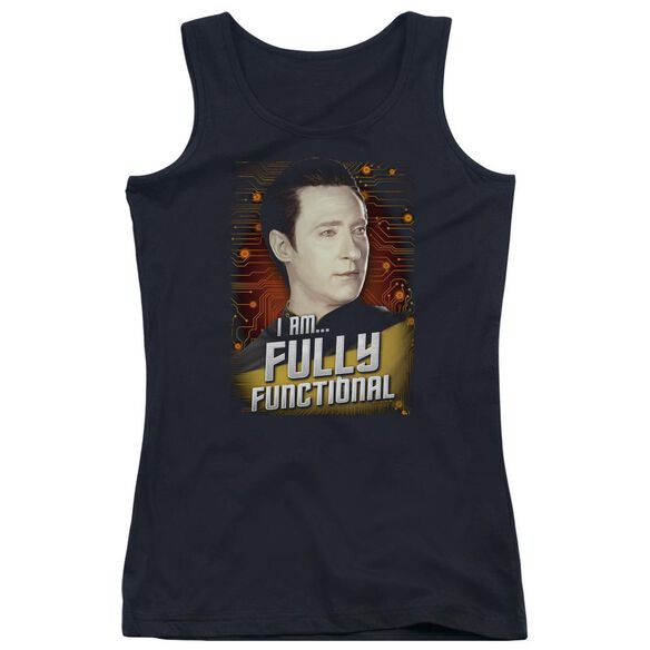 Star Trek Fully Functional Juniors Tank Top