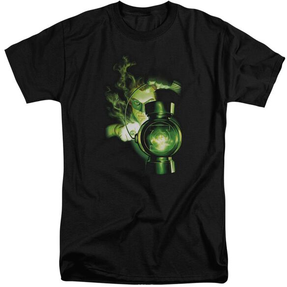 Green Lantern Lantern Light Short Sleeve Adult Tall T-Shirt