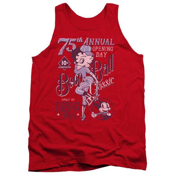 Betty Boop Boop Ball Adult Tank