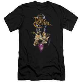 DARK CRYSTAL CRYSTAL QUEST - S/S ADULT 30/1 - BLACK T-Shirt