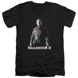 Halloween Ii Michael Myers Short Sleeve Adult V Neck T-Shirt