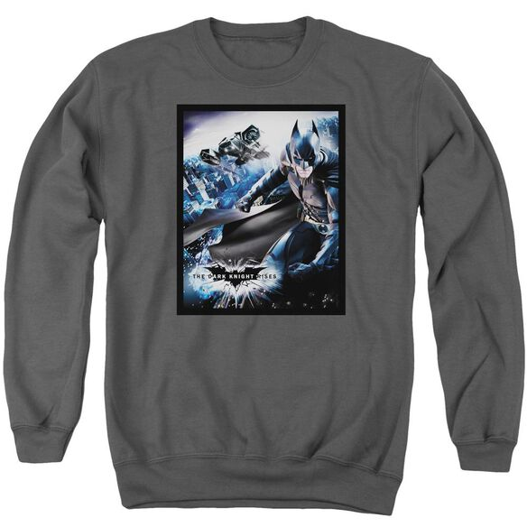 Dark Knight Rises Batwing Rises Adult Crewneck Sweatshirt