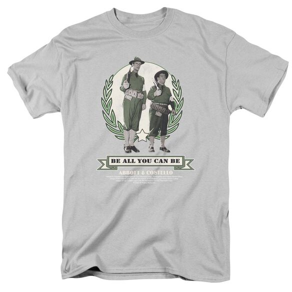 Abbott & Costello Be All You Can Be Short Sleeve Adult T-Shirt
