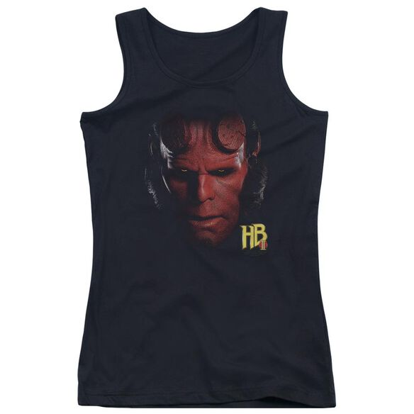 Hellboy Ii Hellboy Head Juniors Tank Top