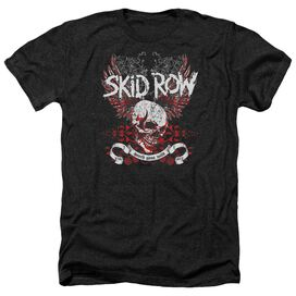 Skid Row Winged Skull Adult Heather