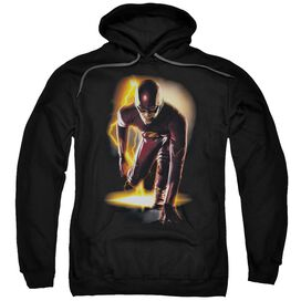 The Flash Ready Adult Pull Over Hoodie Black