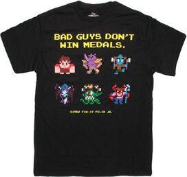 Wreck-It-Ralph Bad Guys T-Shirt