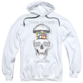 Rubik's Cube Outside The Cube Adult Pull Over Hoodie