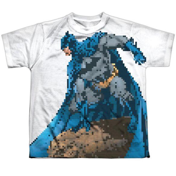 Batman Batbit Short Sleeve Youth Poly Crew T-Shirt