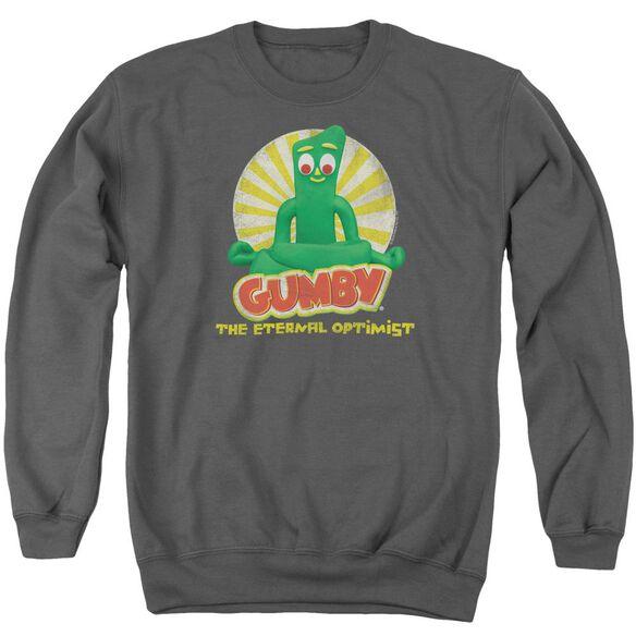 Gumby Optimist Adult Crewneck Sweatshirt