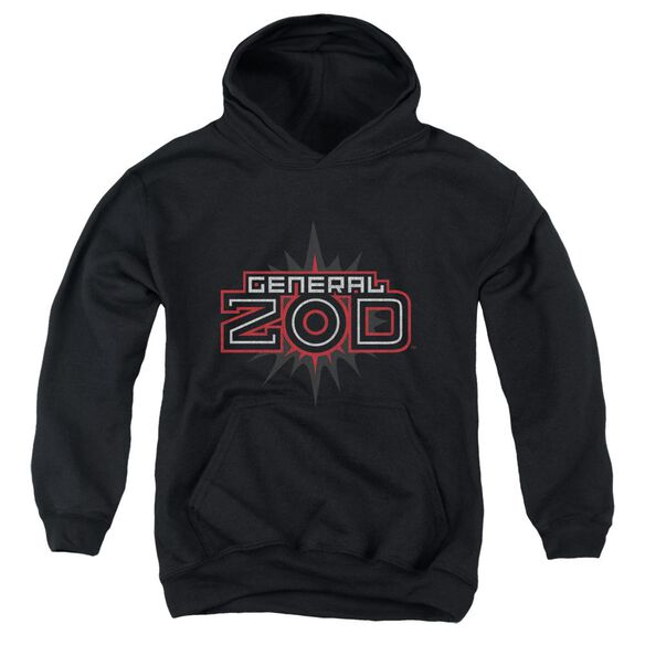 Superman Zod Logo Youth Pull Over Hoodie