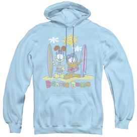 Garfield Beach Bums-adult Pull-over