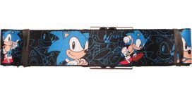 Sonic the Hedgehog Poses Outlines Seatbelt Belt