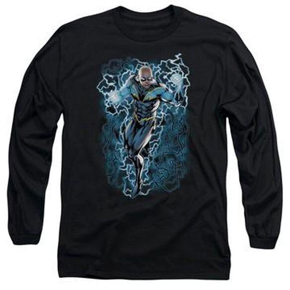 Black Lightning Long Sleeve T-Shirt