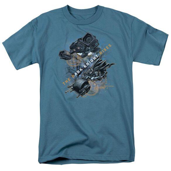 Dark Knight Rises Batmans Toys Short Sleeve Adult T-Shirt