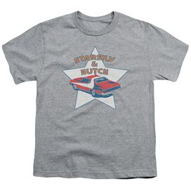 Starsky And Hutch Torino Short Sleeve Youth Athletic T-Shirt