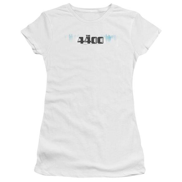 4400 THE 4400 LOGO - S/S JUNIOR SHEER - WHITE T-Shirt