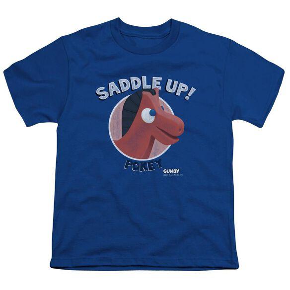 Gumby Saddle Up Short Sleeve Youth T-Shirt