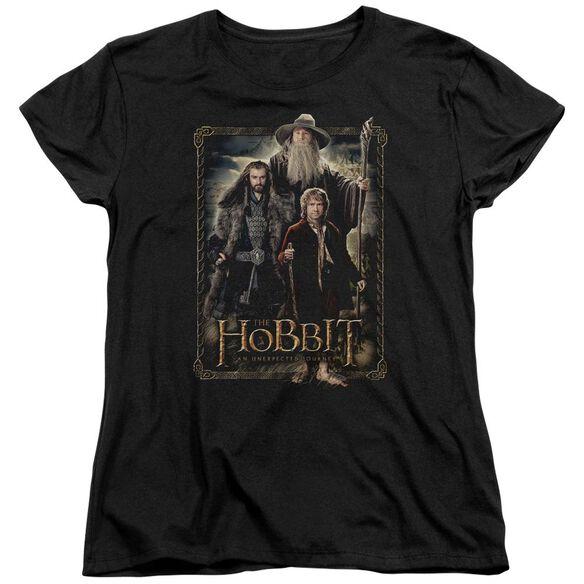 The Hobbit The Three Short Sleeve Womens Tee T-Shirt