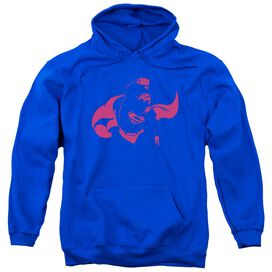 Dc Super Min Adult Pull Over Hoodie Royal