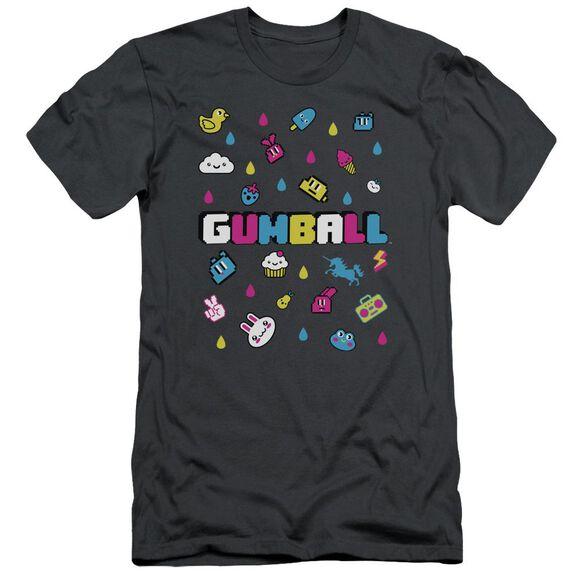 Amazing World Of Gumball Fun Drops Short Sleeve Adult T-Shirt
