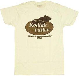 Hot Tub Time Machine Kodiak Valley T-Shirt Sheer
