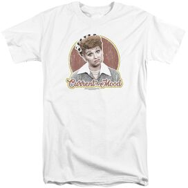 I Love Lucy Current Mood Short Sleeve Adult Tall T-Shirt