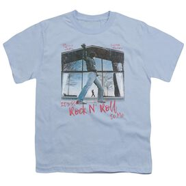 Billy Joel Glass Houses Short Sleeve Youth Light T-Shirt
