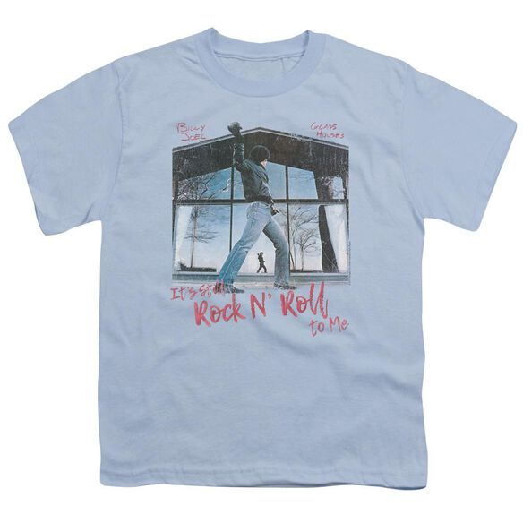 Billy Joel Glass Houses Short Sleeve Youth Light T-Shirt