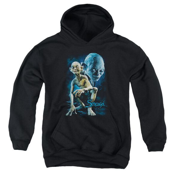 Lor Smeagol Youth Pull Over Hoodie