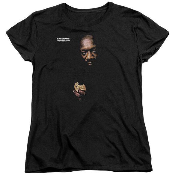 Issac Hayes Chocolate Chip Short Sleeve Womens Tee T-Shirt
