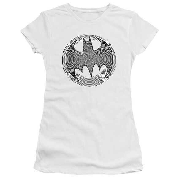 Batman Knight Knockout Short Sleeve Junior Sheer T-Shirt